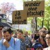 Grunewaldemo gegen Spekulanten und Reichtum: