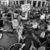 Mahnwache für getöteten Radfahrer am 19.9.2018: