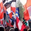 "Naziaufmarsch ""Europa erwache"":    Array"