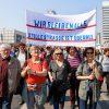 Grossdemonstration gegen hohe Mieten und gegen Deutsche Wohnen:    Array