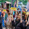 Solidaritätsdemonstration mit Rojava:    Array