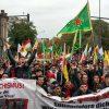 """12.10.2019, Hamburg Demo """"Nein zur türkischen Aggression in Rojava!"""":"""