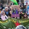 19.10.2019, Hamburg, Demo gegen Überfall der Türkei auf Rojava/Syrien: