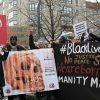 14. Gedenkmarsch zu Ehren der afrikanischen Opfer von Versklavung, Kolonialismus und Rassismus, Berlin 29.02.2020:    Array