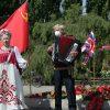 8. Mai 2020 – 75. Jahrestag der Befreiung vom Nationalsozialismus im Treptower Park:    Array
