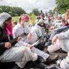 Ende Gelaende Aktion in Brunsbuettel gegen ein geplantes Erdgasterminal:    Array