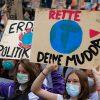 Globaler Klimastreik Berlin am 24.09.2021 #AlleFürsKlima #UprootTheSystem:    Array